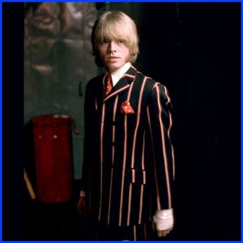 Brian Jones in Pinstripe Suit